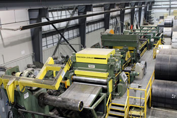 Steel processing machine